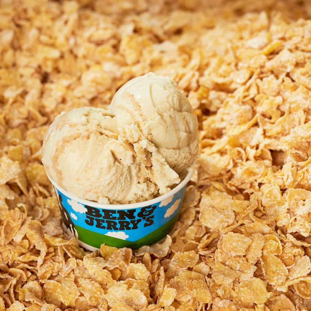 Cereal Splashback Frozen Flakes