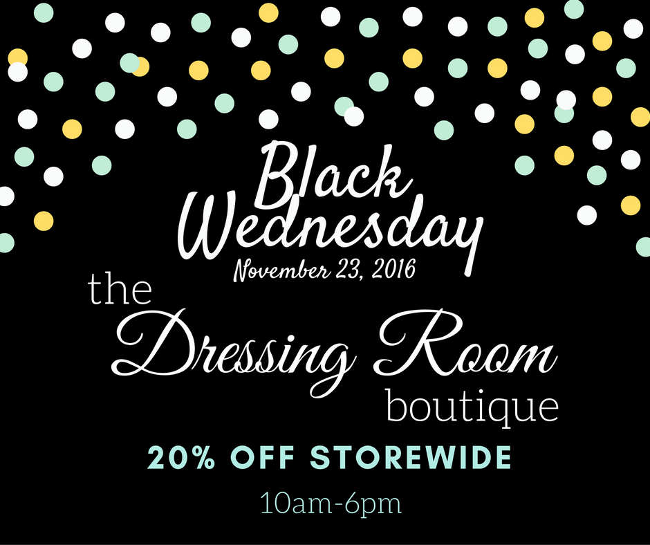 The Dressing Room Black Wednesday