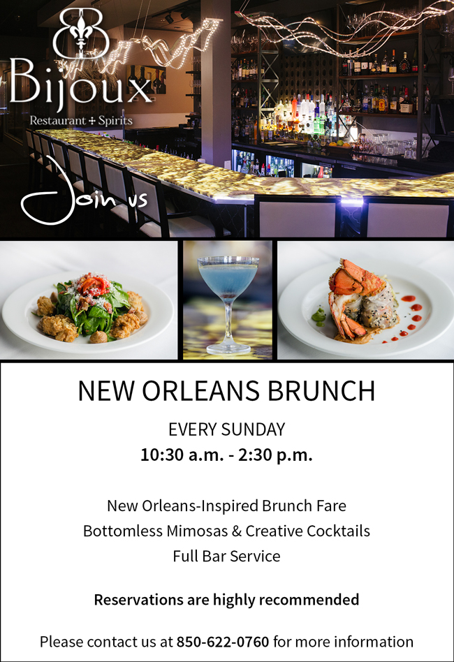 bijoux announces ongoing new orleans sunday brunch the market rh themarketshops com sunday brunch buffet new orleans french quarter sunday jazz brunch buffet new orleans
