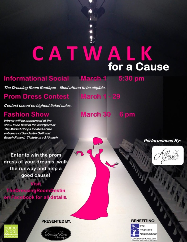 Catwalk for a Cause poster  final