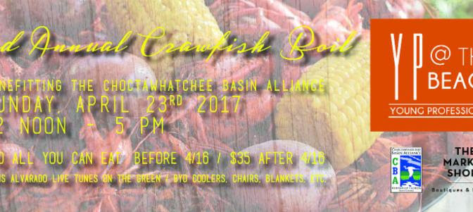 3rd Annual Crawfish Boil benefiting the Choctawhatchee Basin Alliance