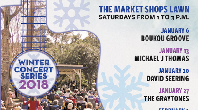 The Market Shops Presents Free Winter Concert Series