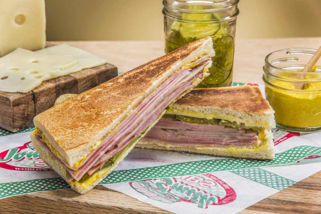 A piled high Cuban Sub captured for United Franchise Group in West Palm Beach, Florida.  Photography by Jeffrey A McDonald