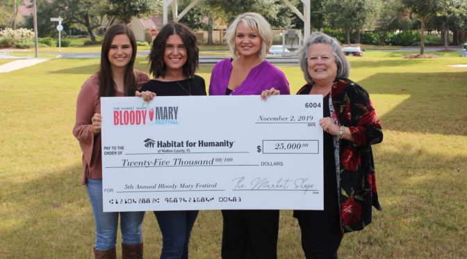 The Market Shops 5th Annual Bloody Mary Festival Raises $25,000 for  Habitat for Humanity – Walton County, FL